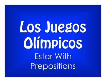 Spanish Estar With Prepositions Olympics
