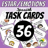 Spanish Estar and Emotions Task Cards