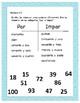 Spanish Even & Odd Numbers Practice