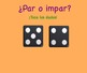 Spanish Even and Odd Numbers Smart Board Activities (Números pares e impares)