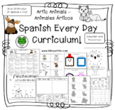 Spanish Every Day Curriculum - Artic Animals - Animales Árticos