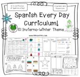 Spanish Every Day Curriculum - Invierno - Winter - Bilingue Kids