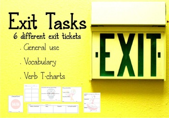 Spanish Exit Tickets