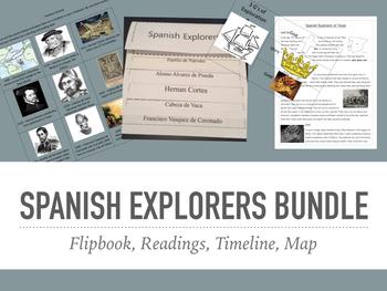 Texas History - Spanish Explorers Bundle
