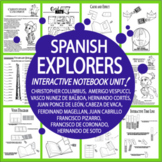 Spanish Explorers Interactive Notebook Unit (12 Spanish Conquistador Lessons)