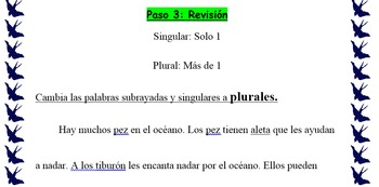 Spanish Expository Writing: Describing Continents and Oceans