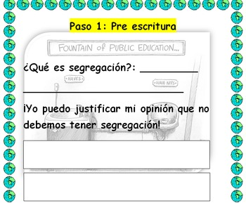 Spanish Expository Writing: Justifying Desegregation