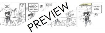Spanish - Expresate 1, Chapter 1 - Greetings Comic Strip Project