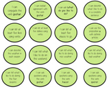 Spanish - Expresate 1, Chapters 1-5 Objectives Bubble Shee