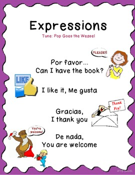 Spanish Expressions Song