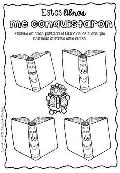 Spanish FIRST grade memory book