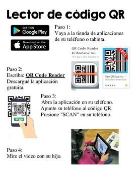 Spanish FREE QR Codes - Rimas y Sonidos, Videos - iPad Listening Station