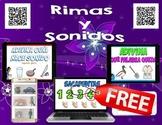 Spanish FREE QR Codes - Rimas y Sonidos, Videos - iPad Lis