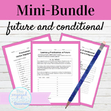 Spanish Future and Conditional Activity Mini Bundle
