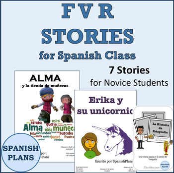 Spanish FVR Stories and Mini Novels