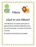 Spanish Fable Freebie