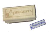 Spanish Facebook Me Gusta Stamp