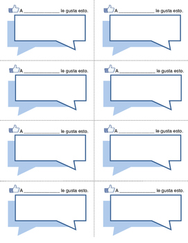 Spanish Facebook Notes (Notas de Facebook)