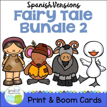 Spanish Fairy Tale Readers {Bundle #2} & Sentence forming pages