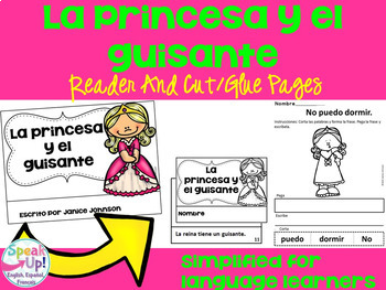 Spanish Fairy Tale Readers {Bundle #3} & Sentence forming pages