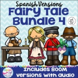 Spanish Fairy Tale Readers {Bundle #4} & Sentence forming pages