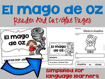 Spanish Fairy Tale Readers {Bundle #5} & Sentence forming pages