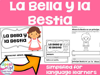Spanish Fairy Tale Readers {Bundle #6} & Sentence forming pages