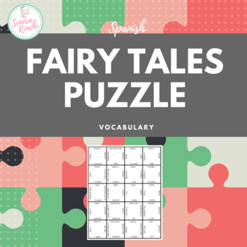 Fairy Tales Vocabulary Puzzle