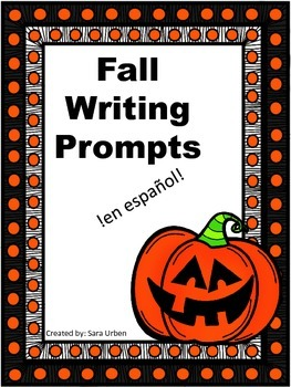 Spanish Fall Journal Prompts