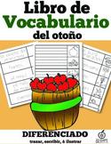 Spanish Fall Vocabulary Flip Book