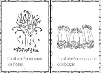 Spanish Fall books Libritos sobre el Otono y sus Dias Festivos