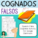 Spanish False Cognates Activity for Google Classroom