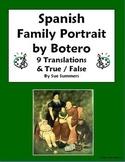 Spanish Family - Botero Family Portrait 9 True/False and Translations