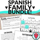 Spanish Family Activities Bundle