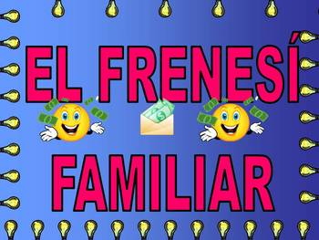 Spanish Family Feud Game (El Frenesi Familiar) - Sports (Los deportes)