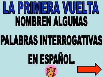 Spanish Family Feud Game - Grammar, Tener, Gustar, Interrogatives