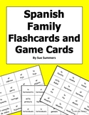 Spanish Family and Pets Flashcards or Game Cards 48 Cards - La Familia