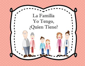 Spanish Family: La Familia: Yo Tengo, Quien Tiene