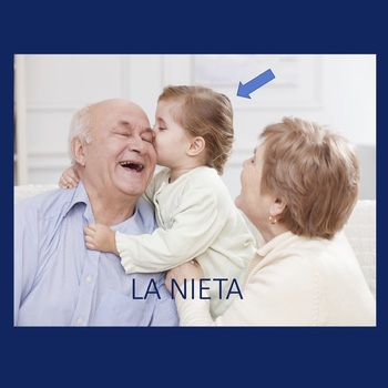 Spanish Family La familia PowerPoint and Interactive Notebook Activity