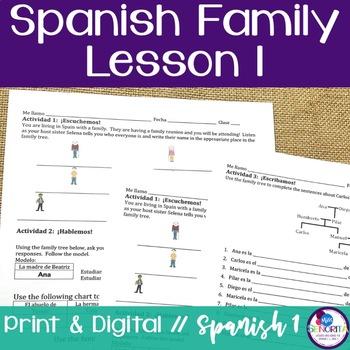 Spanish Family Lesson 1