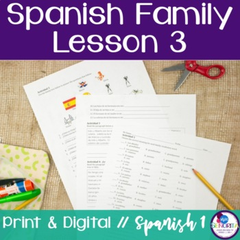 Spanish Family Lesson 3