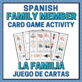 Spanish Family Member Activity Cards - La Familia Juego de Cartas