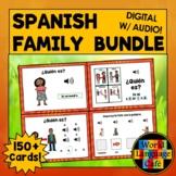 Spanish Family Members, Spanish Boom Cards, Spanish Digital Flashcards