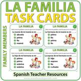 Spanish Family Members - Task Cards