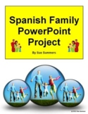 Spanish Family Project - Google Slides & PowerPoint - Dist