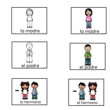 Spanish Family Vocabulary  Powerpoint