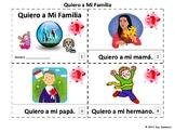 Spanish Family Quiero a Mi Familia Booklets