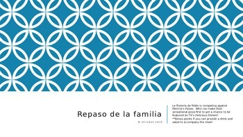Spanish Family Review Game
