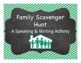 Spanish Vocabulary:  Family Scavenger Hunt