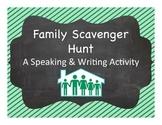 Spanish Vocabulary:  Family Scavenger Hunt